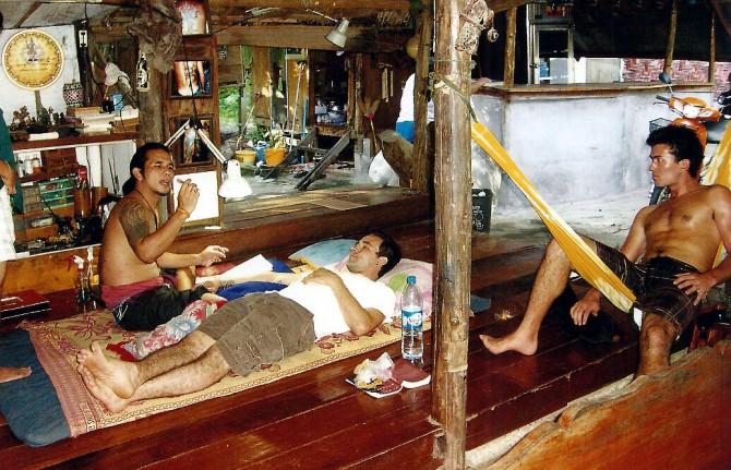 Chillaxing on Koh Phangan