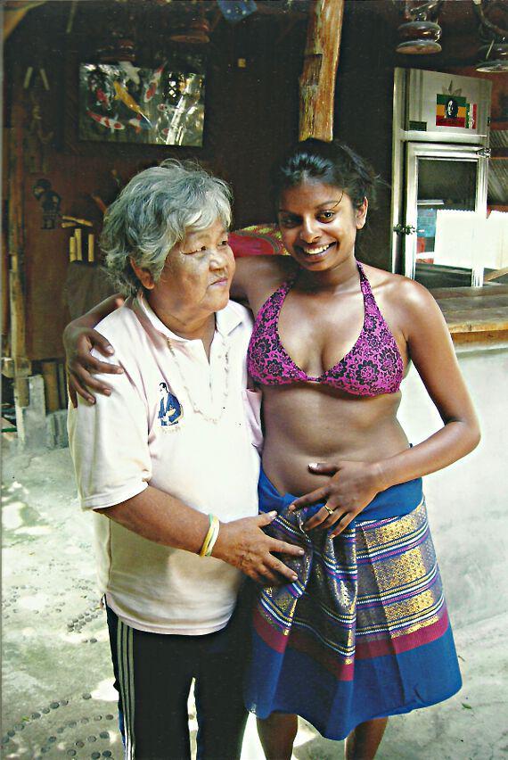 Mama and Friend